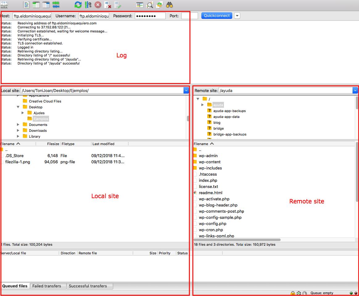 How to use FileZilla - MrDomain