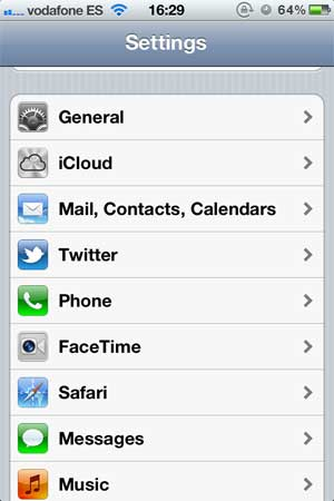 Configure an e-mail account in iPhone - MrDomain