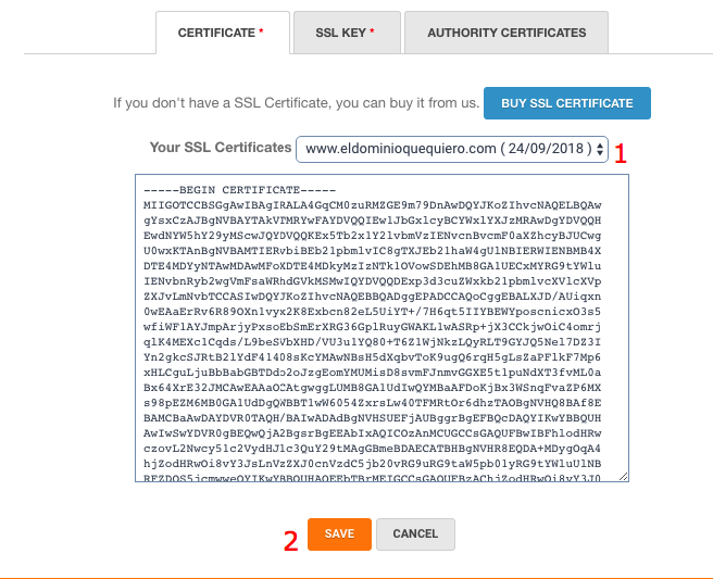 How To Install A Ssl Certificate Mrdomain