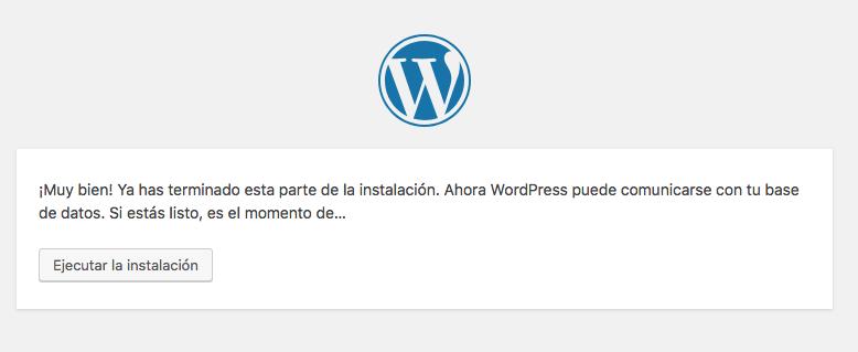 Instalador WordPress paso 3