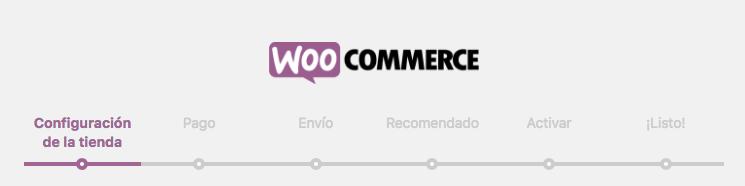 apartados configurador WooCommerce